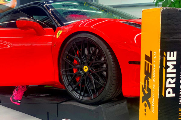 paint protection film Xpel in hollywood florida11