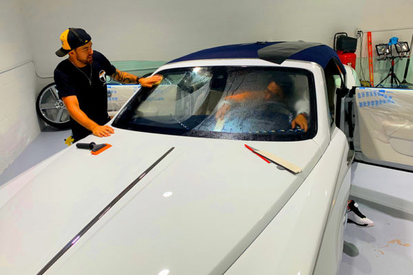 paint protection film Xpel in hollywood florida6